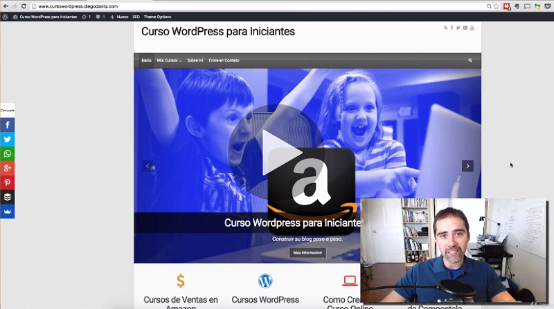 WordPress - Curso Completo WordPress y Sitios Web (Diego Davila)